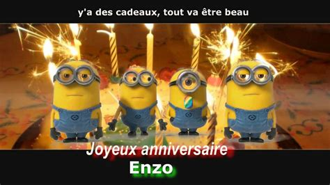day after sandra seb julie anthony smash the cake malo day after minions joyeux anniversaire personnalis 233 enzo youtube