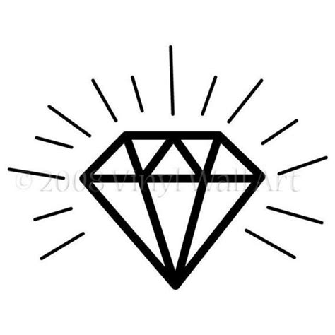 diamond tattoo stencil diamond tattoo fort apache pinterest simple the o