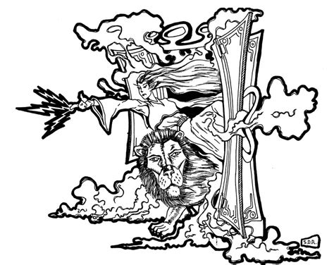 coloring pages for the lion the witch and the wardrobe the lion the witch and the wardrobe clipart clipartxtras