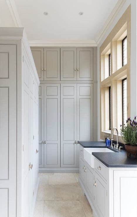 laundry room floor cabinets floor to ceiling gray laundry room cabinets transitional