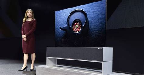 ces  lg lanza el primer televisor oled enrollable gadgets cinco dias