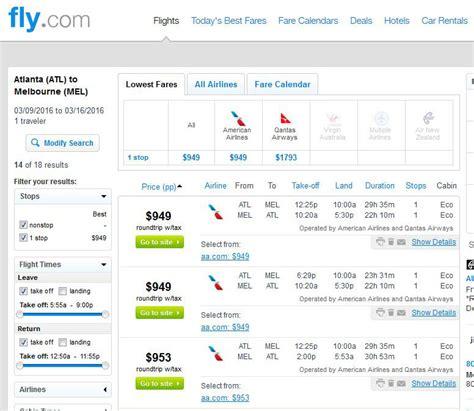 Atlanta Search Australia For 1 000 From Atlanta Salt Lake City Detroit Minneapolis R T Fly
