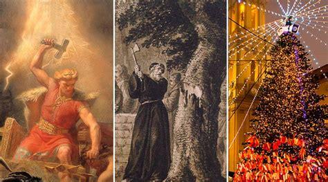 thor san bonifacio y el origen del 225 rbol de navidad