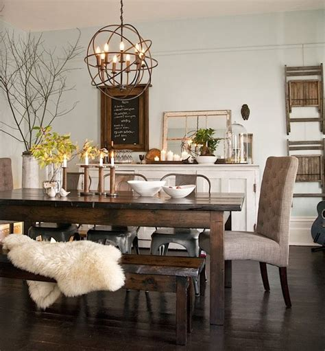 best 25 rustic dining rooms ideas that you will like on