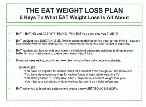 about eat weight loss the eet fitness plan eet s