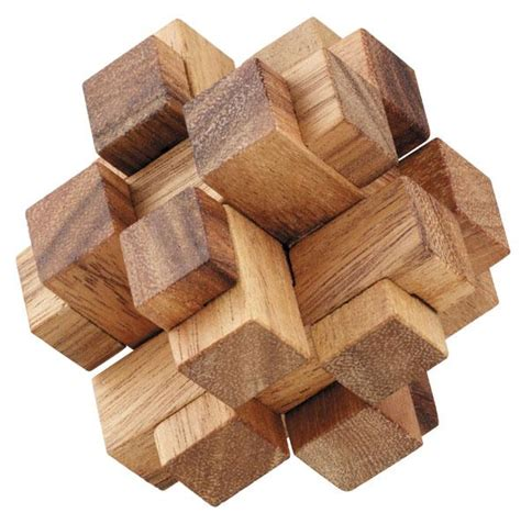 woodworking puzzle 3d squares cube wooden puzzle solve it think out of