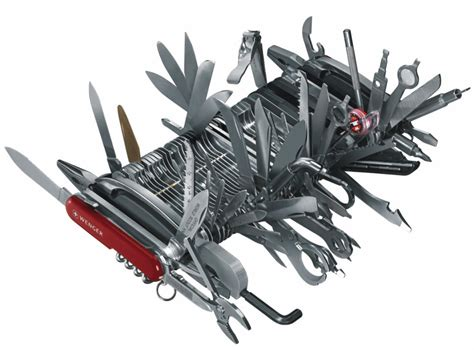 Pisau Lipat Macgyver best multi tool for survival