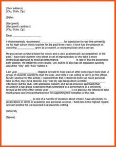college letter of recommendation template template for letter of recommendation for mba