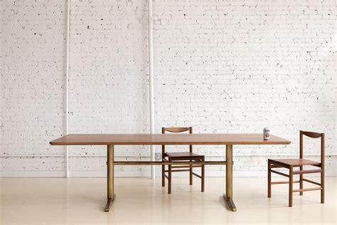 minimal table design fort standard unveils range of minimal metal furniture