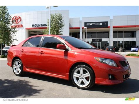 2009 barcelona metallic toyota corolla xrs 31963714 gtcarlot car color galleries