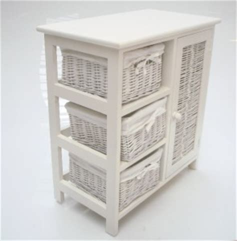 wicker chest of drawers target shabby chic white wicker 3 chest of drawer basket cupboard
