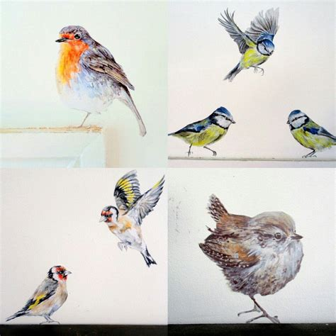 bird home decor bird wall decals garden bird wall stickers nursery bird