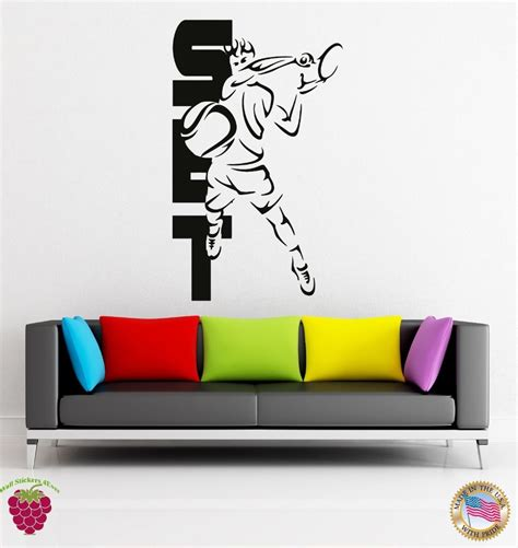 sports wall stickers for bedrooms popular tennis room decor buy cheap tennis room decor lots