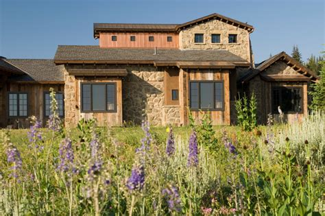 Modern Mountain Homes tuscan farm rustic exterior
