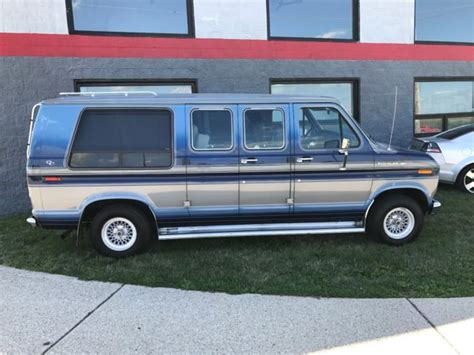 how to work on cars 1986 ford e series auto manual 1986 ford e150 econoline conversion van one owner mint condition 76k miles