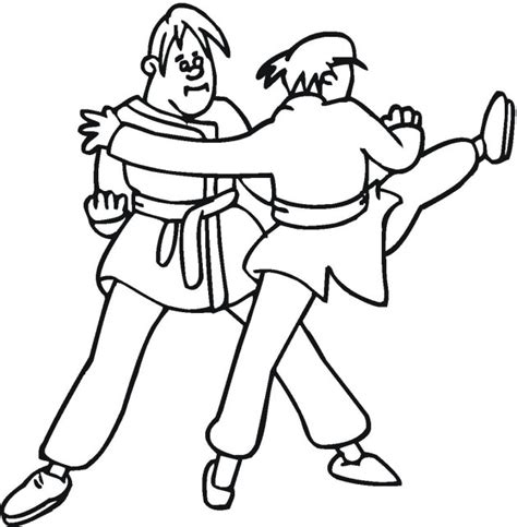 coloring pages karate 123 best images about coloring pages on