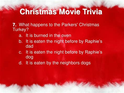the night before christmas movie trivia ppt trivia powerpoint presentation id 1945805