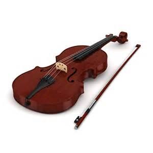 violin 3d model max obj fbx c4d cgtrader com