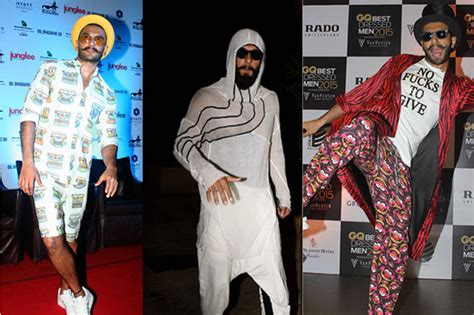 what is style the ranveer singh s dressing style reveals