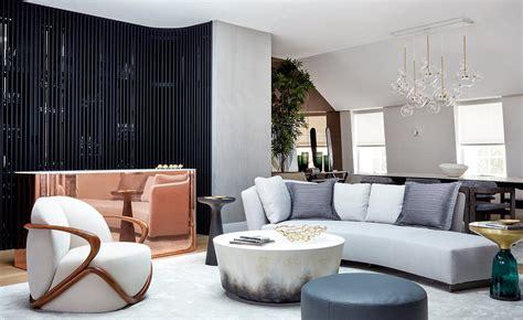 dara huang designs  park crescents penthouse wallpaper