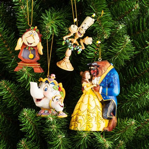 hanging ornaments beauty the beast