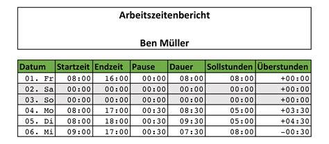 Kostenlose Vorlage Stundennachweis Zeiterfassung Mit Excel 8 Kostenlose Stundenzettel Vorlagen Eomagis