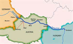 valley map wachau valley austria map
