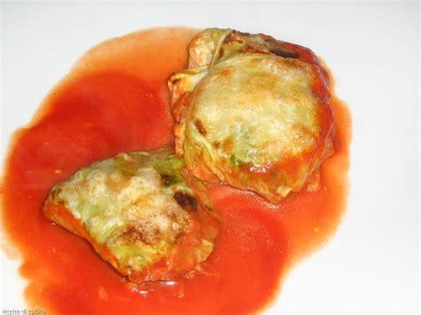cucinare involtini di carne involtini di verza ricette di cucina