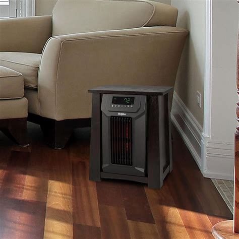 space heaters for large rooms 6 element large room infrared space heater