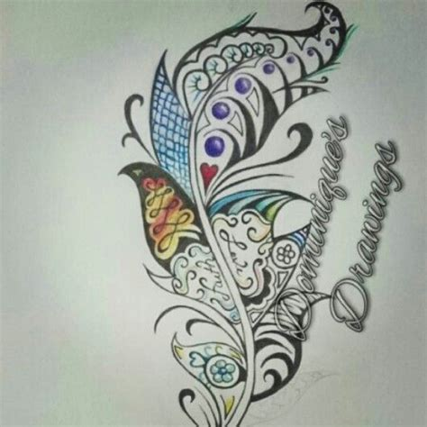 tribal feather tattoo designs current tribal feather design check out my