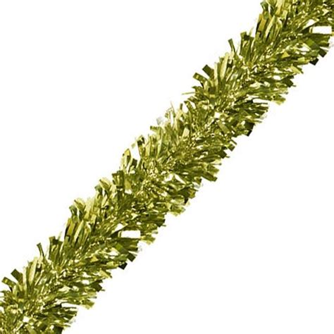 gold gleam n fest tinsel garland 6 ply 4 57m