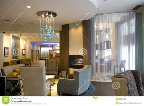 High End House Plans luxury hotel lobby living room interiors royalty free