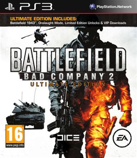 Ps3 Battlefield Bad Company 2 Ultimate Edition Battlefield Bad Company 2 Ultimate Edition Ps3 Zavvi Espa 241 A