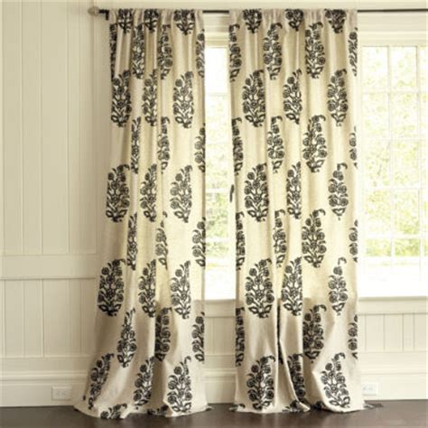 ballard curtains drapery panels for a gray dining room driven by decor