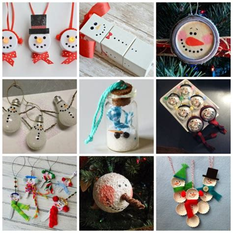 27 diy snowman ornaments for christmas snowman ornament
