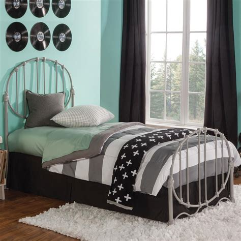 metal headboard and footboard full fashion bed group emery soft grey full headboard and
