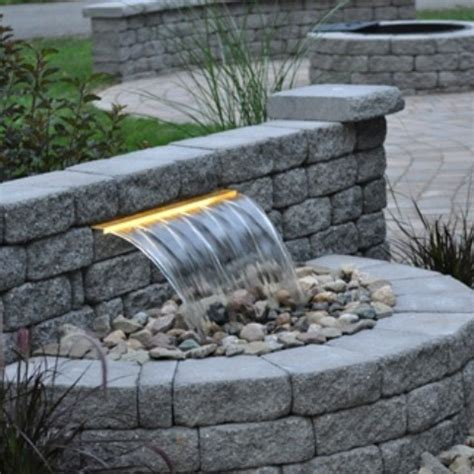 Modern Garden Waterfall by Outdoor Gardening Stylish And Stunning Design For