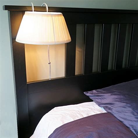 headboard l the bed reading light with shade 816214024172 ebay
