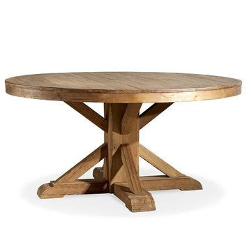 Benchwright Fixed Dining Table Shop Pedestal Dining Table On Wanelo