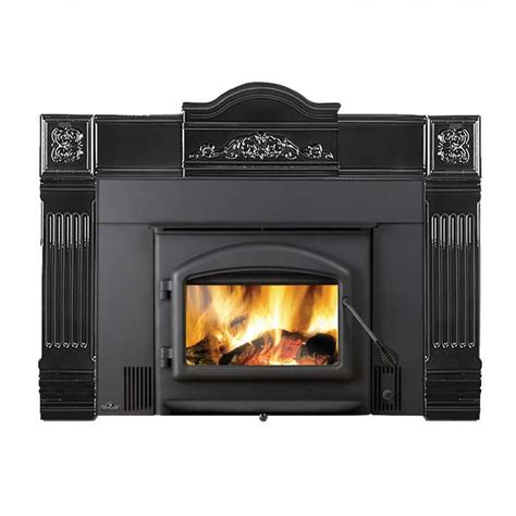 wood burner fireplace insert napoleon oakdale epi 1101 wood burning fireplace insert at