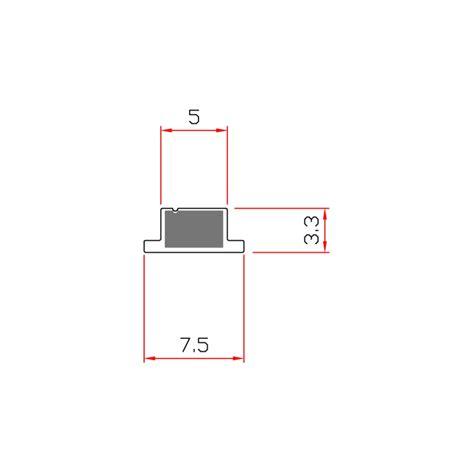 guarnizioni doccia gomma guarnizione magnetica box doccia in gomma ec mag 4911