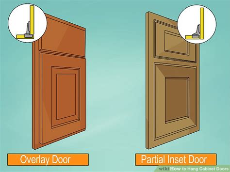 How To Hang Cabinet Doors How To Hang Cabinet Doors 14 Steps With Pictures Wikihow