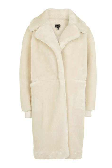 Top Shoo polar cocoon coat topshop