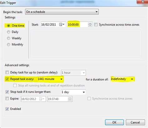 windows how to schedule a task on all weekdays and then disable only on holidays server fault cron how to schedule a task with the task scheduler on