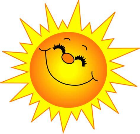 free sun clipart to decorate sun
