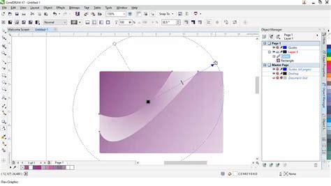 membuat kartu nama dengan corel x7 mendesain kartu nama dengan coreldraw x7 rev graphic