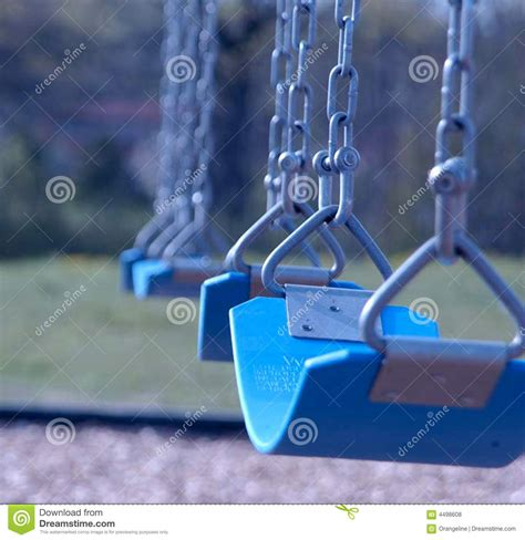 swing row row of swings royalty free stock photos image 4498608