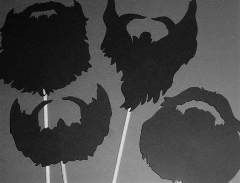 free printable duck dynasty photo booth props diy duck dynasty beards beard on a stick props by partyhq