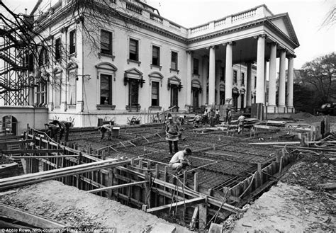 remodeling a white house fascinating pictures of when the white house was