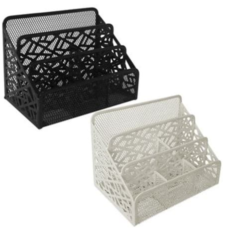 buy white desk accessories from bed bath beyond
